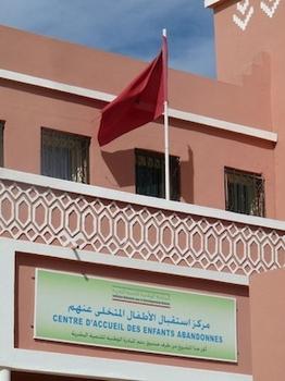 La crèche des enfants abandonnés de Ouarzazate par l'association Les Yeux d'Aïcha