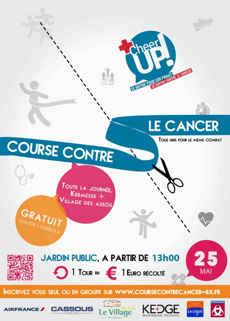 Course contre le cancer du 25 mai 2014