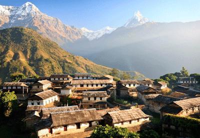 Une école au Népal construite par l'association Human'isa XVII