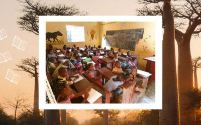 La Fondation Cassous soutient l'Association Lire sous le Baobab