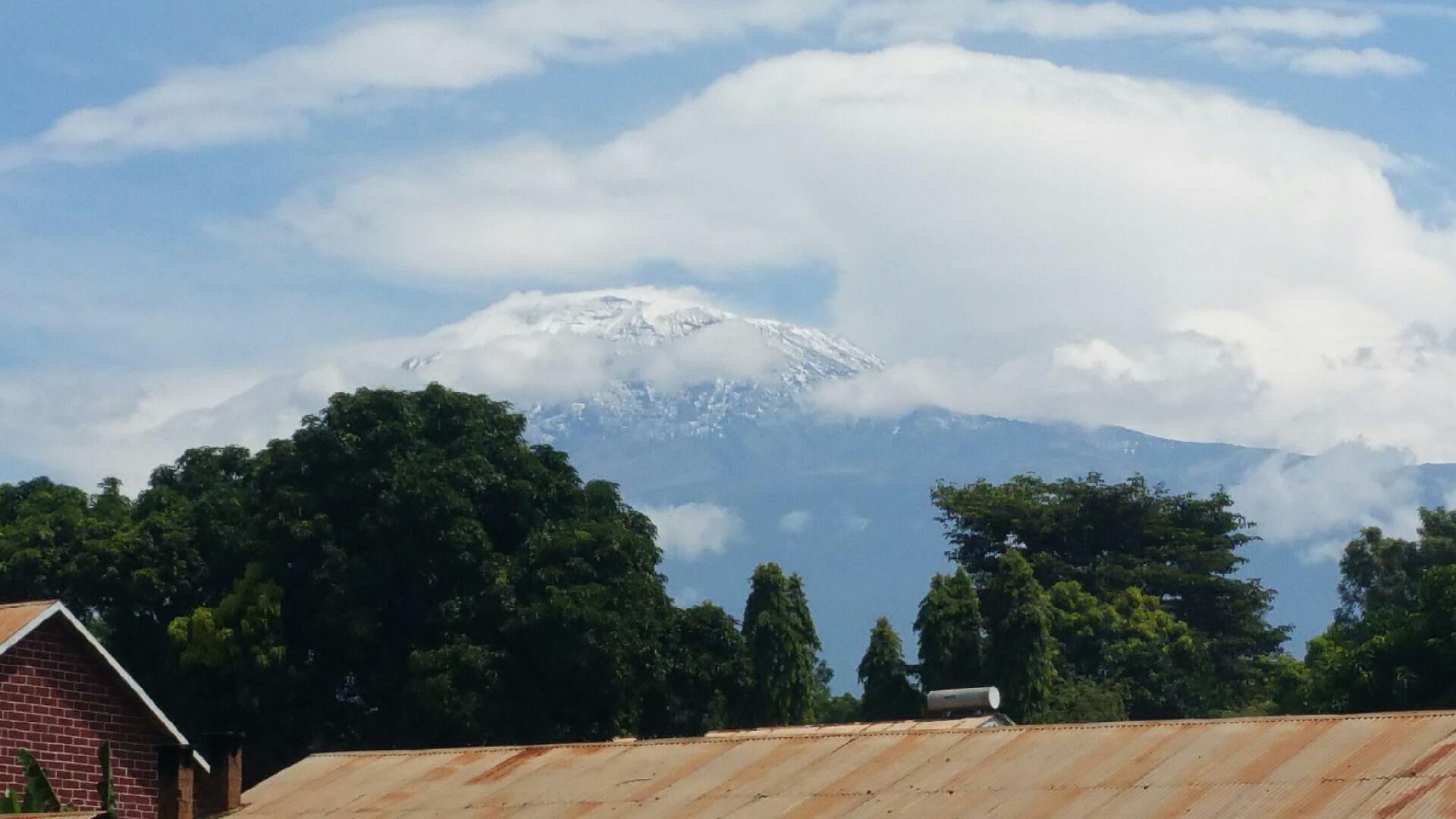 H20 -TANZANIE - Le Kilimanjaro magestueux dans les nuages - jeudi 05 mars