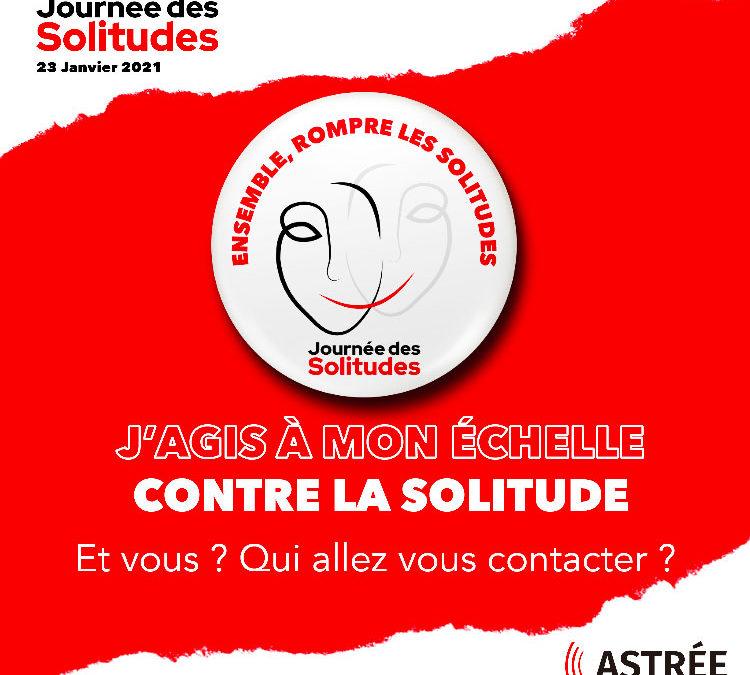 La Fondation Cassous mécène de l'Association Astrée soutient La Journée des Solitudes